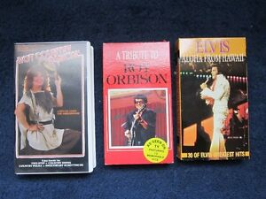 3 Various Music VHS Videos Kitchener / Waterloo Kitchener Area image 1