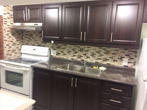 #### One bedroom basement apartment for rent ###