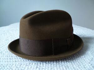 Vintage Champ Men's Fedora Hat Size 7 1/8