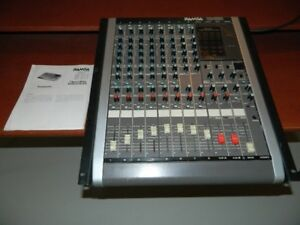 Console audio 8 canaux