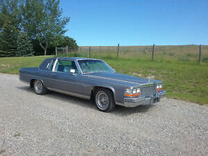 Classic 1981 Cadillac Fleetwood Brougham, fully loaded, low Km's