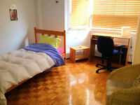Fully furnished room in the heart of downtown-GIRLS ONLY