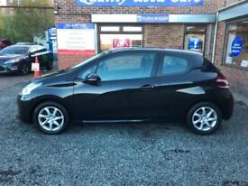 Peugeot 208 1.4HDi Turbo Diesel ( 70bhp ) FAP Active 3 Door Hatchback