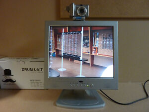 Screen Monitor with Camera