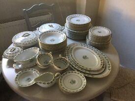 Noritake Winslow 5406 Dinner and Tea Service 64 piece