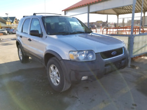 2003 Ford escape xlt with leather
