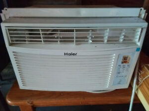 Haier air conditioner 6000 btu-Get it now while it's cheap!