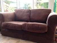 2 Seater loose cover sofa