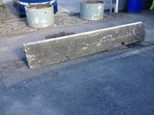 Concrete Jersey barricades, 2pcs, with rebar hooks