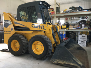 SKID LOADER, 266 HOURS, AS NEW!