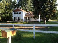 ~47 acre Ranch/Farm. 10 is forest. 5 bdrm plus. All excellent