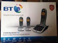 BT 4500 big button trio