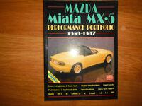 Mazda Miata MX5 Performance Portfolio 1989-1997 Brookland Books