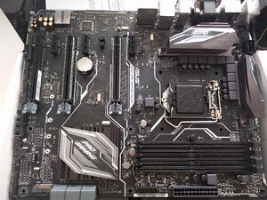 Brand New: Asus Z170 Pro Gaming Aura Motherboard