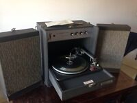 Vintage record player Elizabethan Stereo 20T