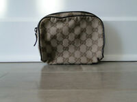 Gucci makeup bag/ case