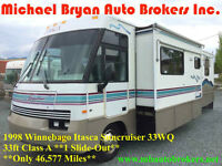 1998 ITASCA SUNCRUISER 33FT CLS A *1 LARGE SLIDE* GREAT PRICE***