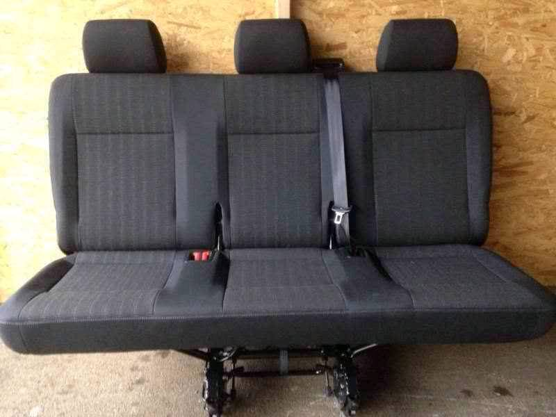 Vw t5 t6 transporter quick release rear kombi seats