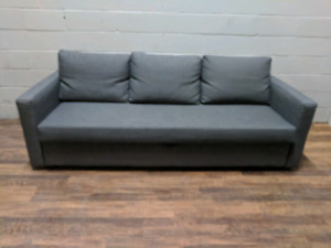 (Free Delivery) - Grey Ikea Friheten sofa bed