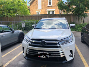 Lease Takeover 2018 Toyota Highlander XLE AWD