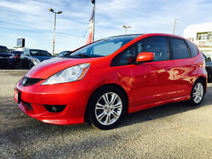 2010 Honda Fit Sport /Brand New Tires 7299$/Low Km /Clean Title