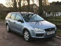 Ford Focus 1.6TDCi 2005 LX Estate TOW BAR 12 MONTHS MOT