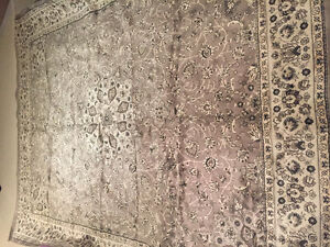 Korhani Area Rug - neutral/silver - 9x10- $125