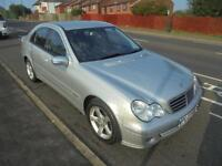 MERCEDES-BENZ C CLASS 1.8 C180 KOMPRESSOR AVANTGARDE SE 4DR ...SALOON, 2007.