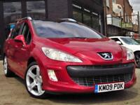 2009 PEUGEOT 308 SW 2.0 HDI FAP SE 7 SEATER 5DR ESTATE AUTOMATIC DIESEL ESTATE D