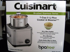 CUISINART RICE COOKER & STEAMER