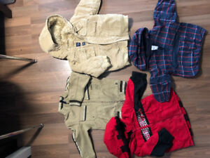 Winter clothes for boys C