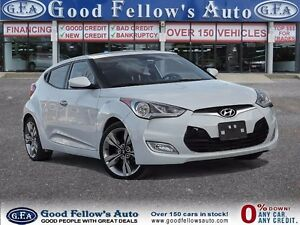 2013 Hyundai Veloster MANUAL, LEATHER, SUNROOF, NAVIGATION, CAME