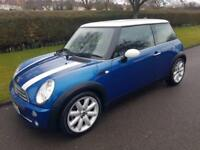 MINI COOPER 1.6 HATCH - AUTOMATIC - 3 DOOR - 2006 - BLUE ** LOW MILES**