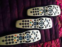 Sky remote controls