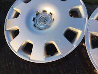 Vauxhall wheel trim