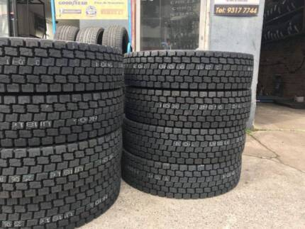 TRUCK TYRES FOR SALE VOLVO MERCEDES HINO KENWORTH MACK ISUZU IVEC