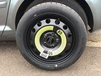 Volkswagen Audi 16 inch spare wheel new 5x112