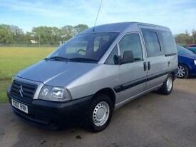 CITROEN DISPATCH D815 WHEELCHAIR ACCESS VEHICLE, Silver, Manual, Diesel, 2007