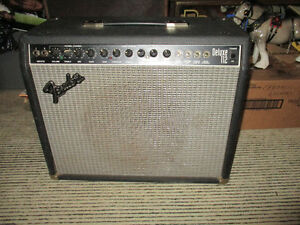 Vintage Fender Deluxe 112 Amplifier--Made in the USA--200 watts Kitchener / Waterloo Kitchener Area image 1