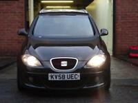 2008 Seat Altea XL 2.0TDI DIESEL MPV 6 GEARS MOT JUST DONE 2 KEYS