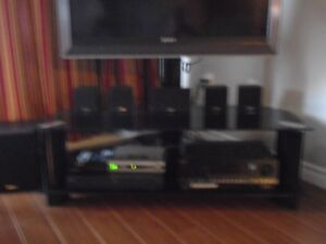 Corner TV Stand with Free 40 Inch Sony TV