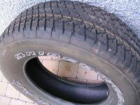 4 pneus de camion neuf 18 pouces  14/32 bridgestone dueler a/t