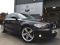 2009/09 BMW 1 Series 2.0 118d M Sport Hatchback 5dr Diesel Automatic Black