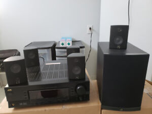 JVC Stereo  (5 speakers and woofer) ...almost giving it away
