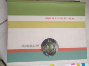 TEXT BOOKS  GLOBAL BUSINESS TODAY