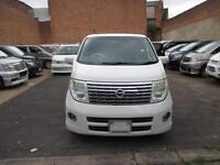 2005 NISSAN ELGRAND 3.5 V6 8 SEATER HIGHWAY STAR TWIN SUNROOF