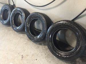 4 Goodyear Winter Tires - 265/65R17