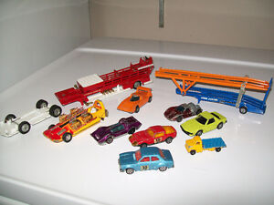 Vintage Dinky Car lot, Corgi, Whizzwheels, Hot Wheels red line