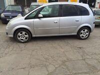 Vauxhall meriva 1.6 petrol 56 . Zafira family car