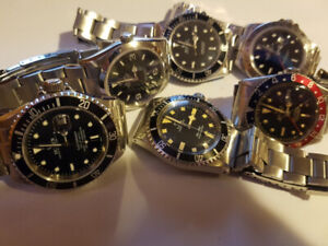 Buying watches modern and Vintage working or not